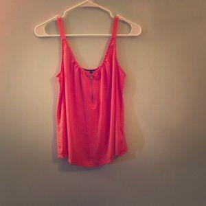 Dressy, pink tank top